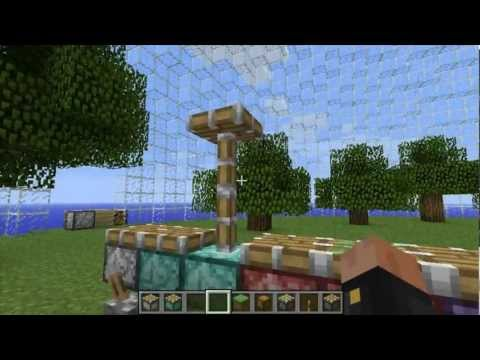 More Pistons 1.2.5 Minecraft Mod Small Review and Tutorial