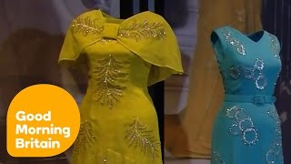 The Queen's Most Historical Dresses On Display In Buckingham Palace | Good Morning Britain