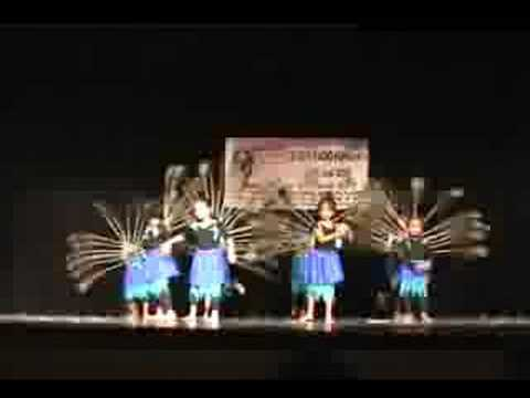 Rakshita Kota's Peacock Dance Awara Bhanware Song (sapnay) video