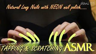 ✣ ASMR: nail TAPPING & SCRATCHING