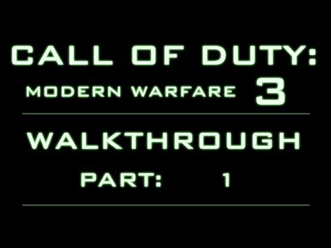 Modern Warfare 3 - Veteran Walkthrough (Commentary) Part 1 - Black Tuesday