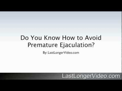 Do You Know How To Avoid Premature Ejaculation?   3 Simple Tips To Consider