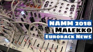 NAMM 2018: Malekko Manther Growl & New Eurorack Drum Modules