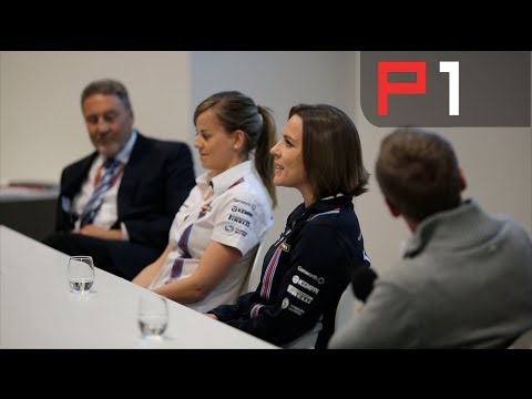 Silverstone F1 Fan Forum - Claire Williams, Susie Wolff and Bob Bell