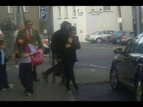 Kim Kardashian And Kanye West Seen On Irish HONEYMOON Cinema Trip!!!