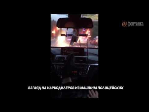 Как выглядит погоня за Land Cruiser из полицейского BMW: «Коля, жми!»