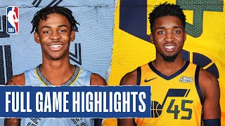 GRIZZLIES at JAZZ | FULL GAME HIGHLIGHTS | August 5, 2020