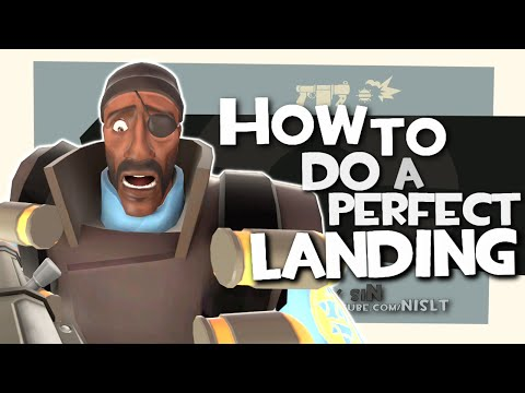 TF2: How to do a perfect landing