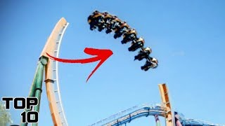 Top 10 Scariest Roller Coasters You Won't Believe