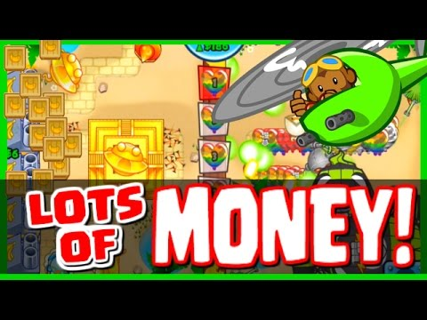 Bloons TD Battles - SPENDING SO MUCH CASH & BANANAS BANANZA MODE! - GET MONEY FAST IN BTD BATTLES!