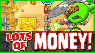 Bloons TD Battles - SPENDING SO MUCH CASH & BANANAS BANANZA MODE! - GET MONEY FAST IN BTD BATTLES!