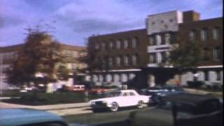 Terre Haute Indiana Nov 1961 ISU downtown