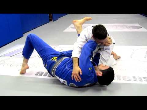 Richmond BJJ Academy - December 2012 Technique of the Month - Bottom Side Control Submission Image 1