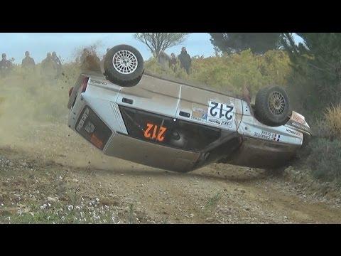 rallye terre de Vaucluse 2016 crash et show