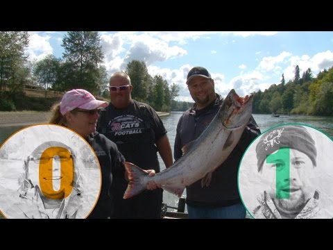 Cowlitz River Chinook Salmon S2 Ep. 2 of Horns and Hooks TV
