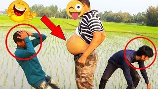 Must Watch new Funny 😀😀 Comedy Video 2019 | Try not to Laugh | Ep - 10 | Pagla Baba Fun