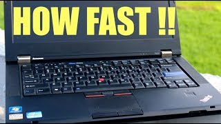 ThinkPad T420 Win 10 - Boot Time & Speed Test !!!