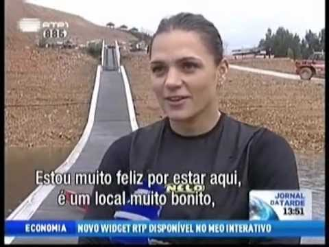 Nelo - Katalin Kovacs in our Training Center - Portuguese TV Report