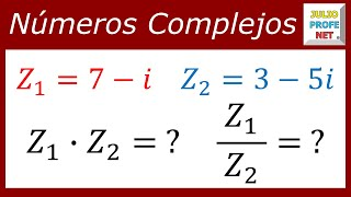 Multiplicacin y Divisin de Nmeros Complejos