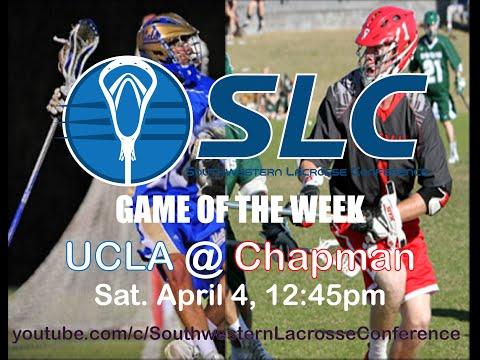 UCLA @ CHAPMAN - SLC Game of the Week