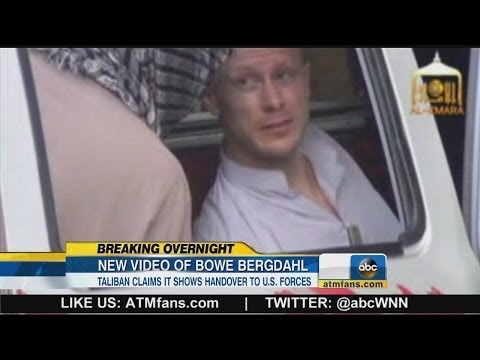 New Video Shows Release of Army Sergeant Bowe Bergdahl