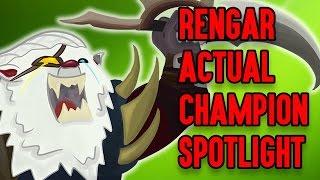 Rengar ACTUAL Champion Spotlight ft. Darkk Mane