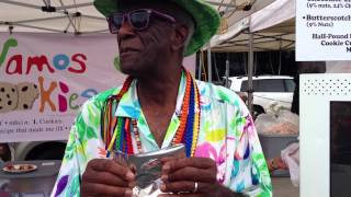 Wally Amos at Eat the Street