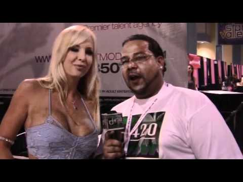 Eden Adams 2011's Penthouse pet  Smokin wit Antlive &The d420Show