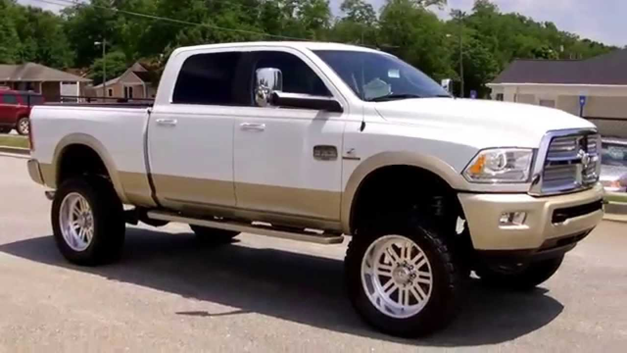 2013 Ram 2500 Longhorn for sale LIFTED - YouTube
