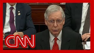 McConnell changes impeachment rule after GOP senators insist