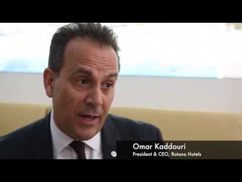 Omar Kaddouri, chief executive, Rotana Hotels