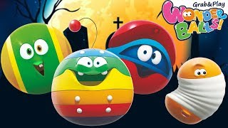 Fun Halloween Times With 3D Animation | Funny Shows For Kids Wonderballs Official