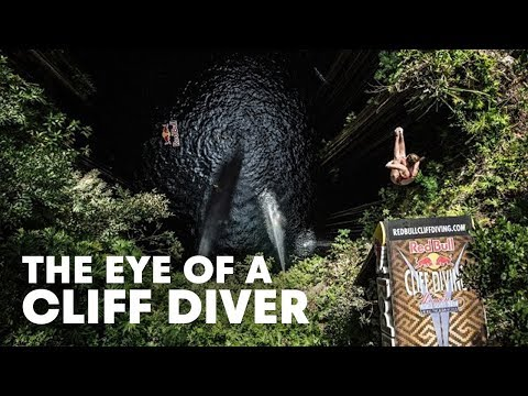 The Eye of a Cliff Diver - Red Bull Cliff Diving World Series