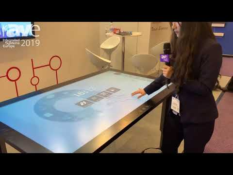 ISE 2019: Prima Technology Inc Demos 65″ Touch Table for Collaboration