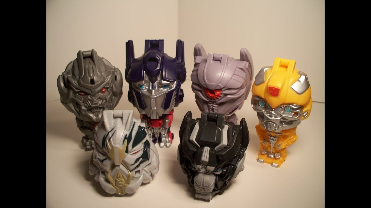 Transformers Burger King Transformers 3 Dotm Burger