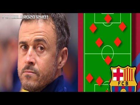 El posible once de Luis Enrique para la próxima temporada ◉ Barcelona ◉ Liga BBVA ◉ 2016-17