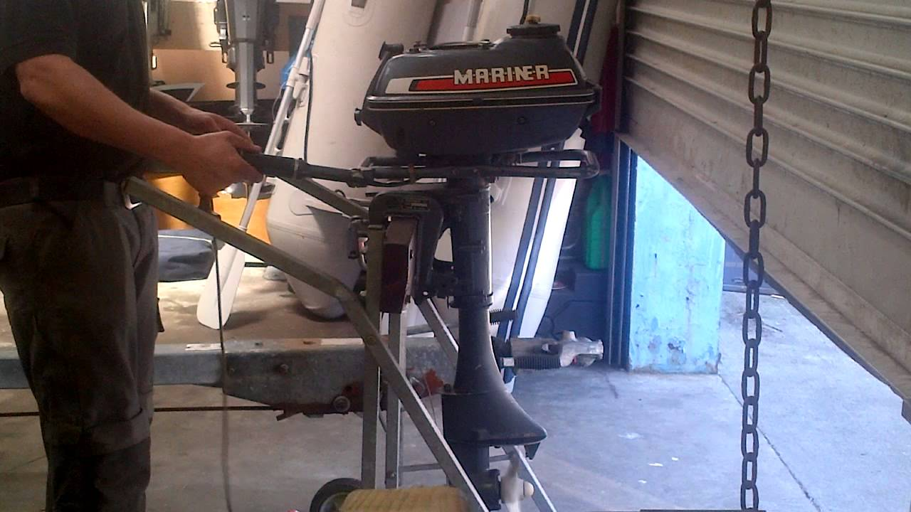 Mariner 3 5 Hp Outboard Engine Test Run For Sale On Ebay