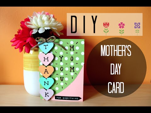 download lagu DIY: EASY MOTHER'S DAY CARD I Simple & C gratis
