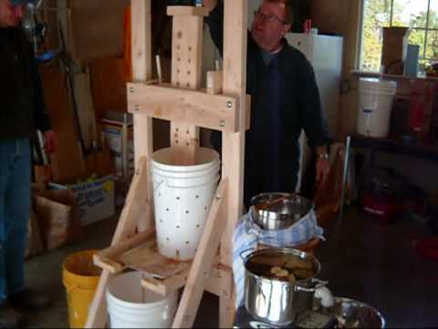 2009 Apple Cider Pressing