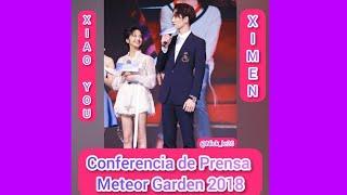 [SUB ESPAÑOL] Meteor Garden 2018 Press Conference Cut de Jia Qi and Caesar Wu (Xiao You & Ximen)