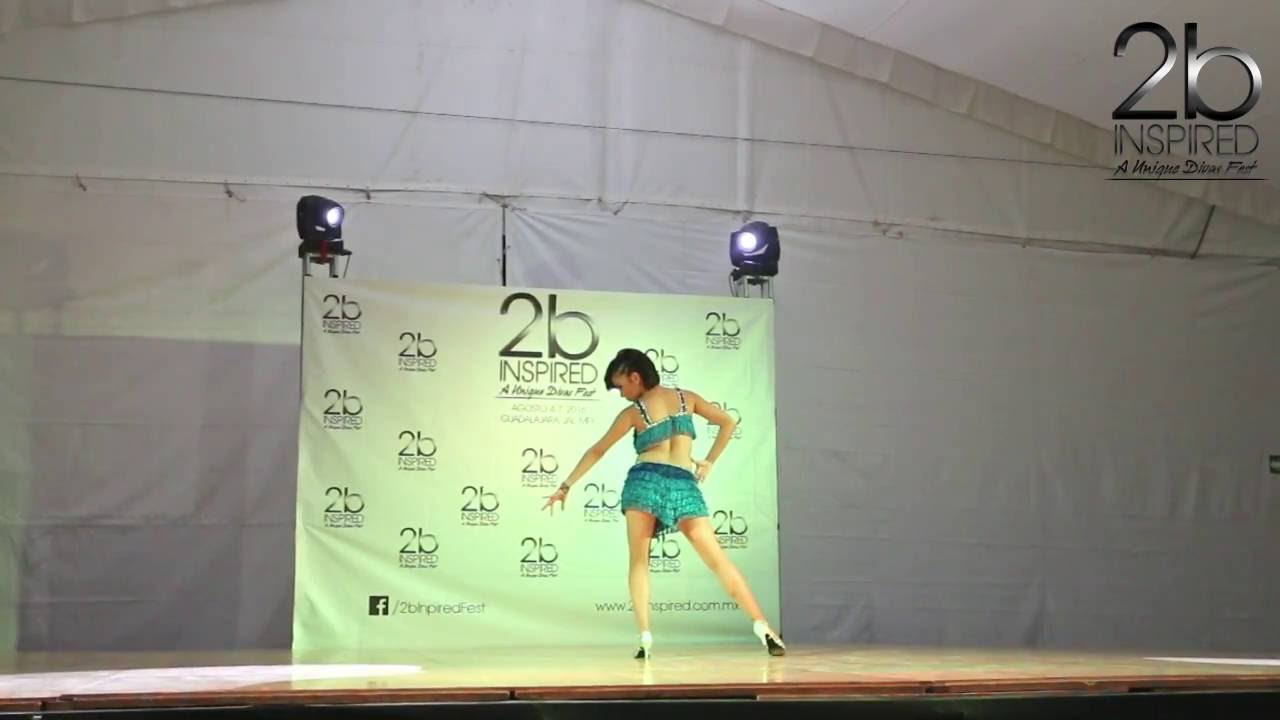 Yolanda Mendez Amezcua | Salsa Soloista Abierta | 2b Inspired 2016