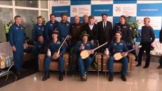 Warm Welcome for Expedition 35