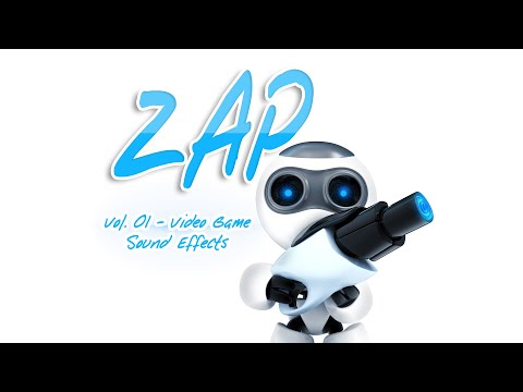 Zap 01 - Video Game Sound Effects - Electric, Laser and Lightning Zaps for Video Games