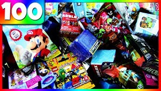 HUGE BLIND BAG OPENING! 🎁 Opening 100 Random Blind Bags! Ep. #21-40 Compilation | Trusty Toy Channel