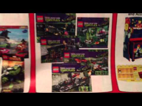 LEGO Teenage Mutant Ninja Turtles at Toys