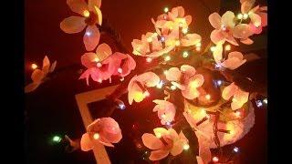 Светильник цветущее дерево своими руками
