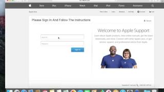 Apple Phishing Email and Website Scam