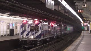 NYC Subway HD 60fps: Late Night Special Moves @ 181st Street (Layups, Garbage Trains, R179 Troll)