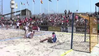 Giorno #7 - EURO 2013 Beach Handball: Italia - Polonia 0-2 (Consolation Round)