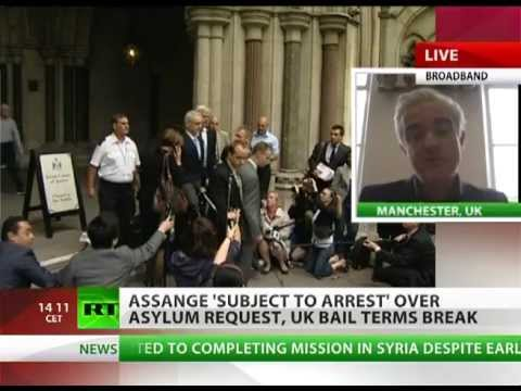 Bail Break: Loz Kaye on Assange Ecuador asylum request